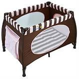 Манеж-кровать Wonderkids Honeybee (шоколадный), фото 2
