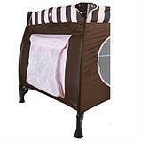 Манеж-кровать Wonderkids Honeybee (шоколадный), фото 5