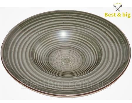Тарелка для пасты (Графити) - 270 мм, 350 мл (Farn)