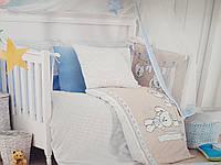 Комплект в детскую кроватку из 12 предметов. Турция.
