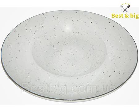 Тарелка для пасты (Мрамор) - 270 мм, 350 мл (Farn) Siesta