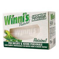 ЭКО мыло. Winni's Sapone di Marsiglia -Гипоаллергенное Марсельское твердое мыло для стирки и личн.гигиены 250г