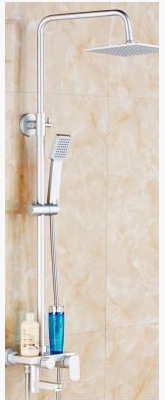 Стойка душевая в ванную комнату с верхним душем 5-031