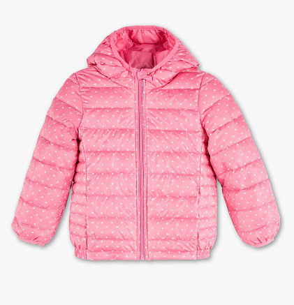 Осенняя куртка на пуху для девочки C&A Германия Размер 110