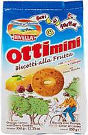Печенье Divella Ottimini alla Frutta с фруктами, 350 гр., фото 1