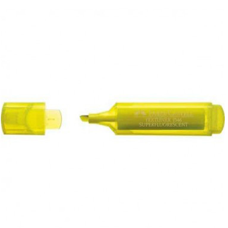 "Маркер текстовый Faber_Castell 154607 желтый 1-5мм ""Textliner Superfl"""