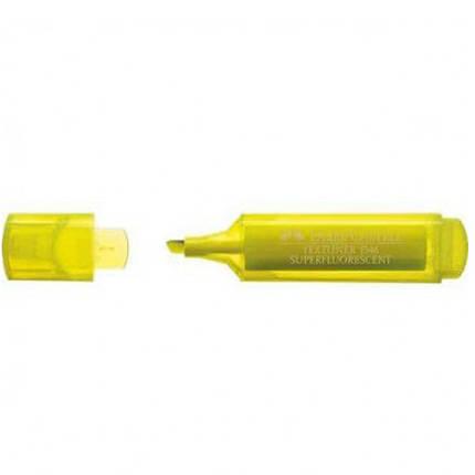 "Маркер текстовый Faber_Castell 154607 желтый 1-5мм ""Textliner Superfl"", фото 2"