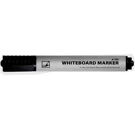 Маркер для досоки 4Office 4-105 черный 1-2мм, круглый                                                                                                 , фото 2