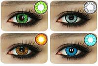 Цветные контактные линзы ЦЕНА ЗА ПАРУ