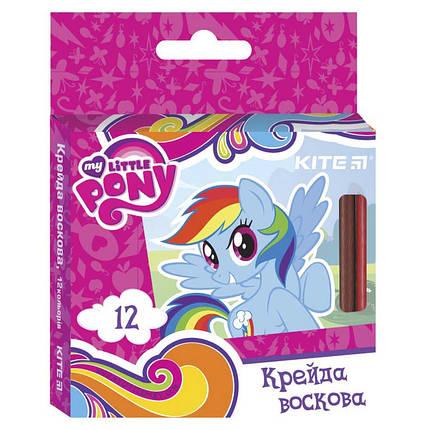 """Карандаши цветные Kite LP17-070 12кол воск """"My Little Pony"""", фото 2"""