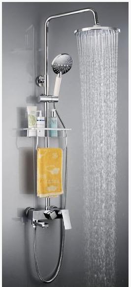 Стойка для душа в ванную комнату со смесителем 5-032