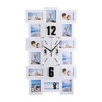 Часы настенные с фоторамками Лучшие моменты (110-1083372)