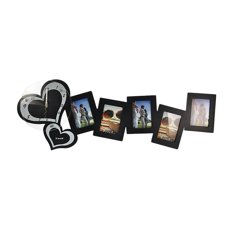 Часы настенные с рамками для фото Любовь (110-1083374)