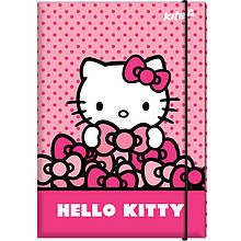 "Папка для труда Kite HK17-213 A4 картон на резинке ""Hello Kitty"""