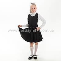 """Школьный сарафан  черный """"Марианна"""", фото 1"""