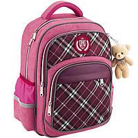 Рюкзак Kite K18-735M-1 розовый 38х28х15 см, 735 Сollege line-1, анатомическая спинка, полиэстер, светоотражающие элементы, 750 гр