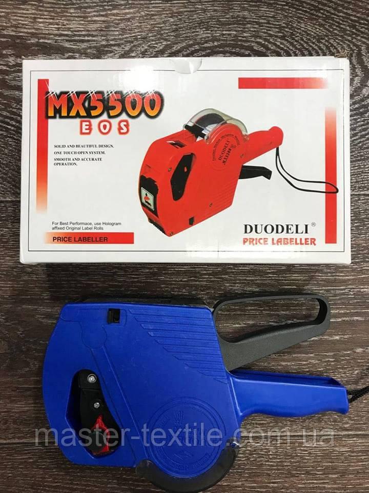 Этикет-пистолет для нанесение цифр МХ-5500 ручной чернильный