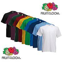 Мужская футболка Fruit Of The Loom (ValueWeight)