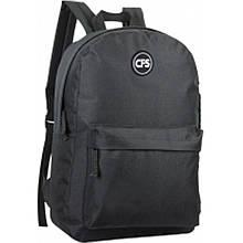 Рюкзак CFS CF86448 черный 40х26х16 см,810,полиэстер, 1 отделение+1 карман