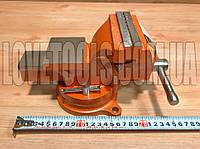 Тиски слесарные 100 мм SPARTA 186235 лещата