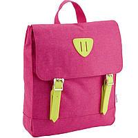Рюкзак Kite K18-546XS-1 розовый 30х27х5,5 см, полиэстер, 1 отделение, 1 передний карман, мягкая ручка, 315 гр