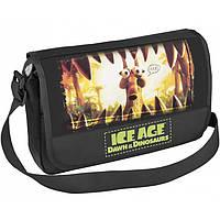 "Сумка CFS IA09801 черный 35,5х30х10см,""Ice Age"", горизонтальная, полиэстер, 1 отд. на молнии, Laptop-карман; доп.отд. спереди, 2 кармана, 2 бок."