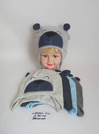 Детская шапка для мальчика Иннокентий р. 46-48, фото 2