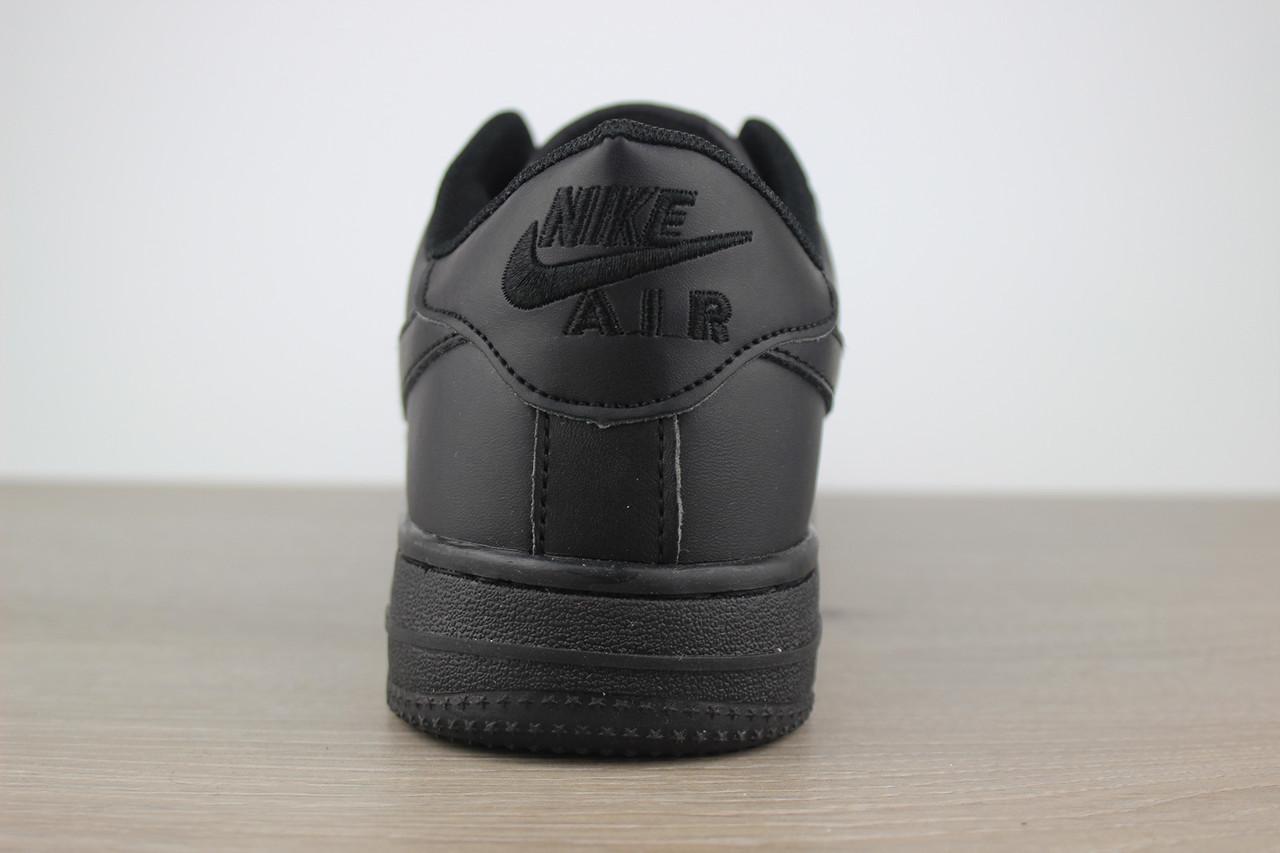 106fdcc1b00642 Классические кроссовки Nike Air Force 1 Black (реплика), цена 799 грн.,  купить в Харькове — Prom.ua (ID#528514436)