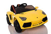 Электромобиль детский аккумуляторный Lamborghini Т-7630 желтый