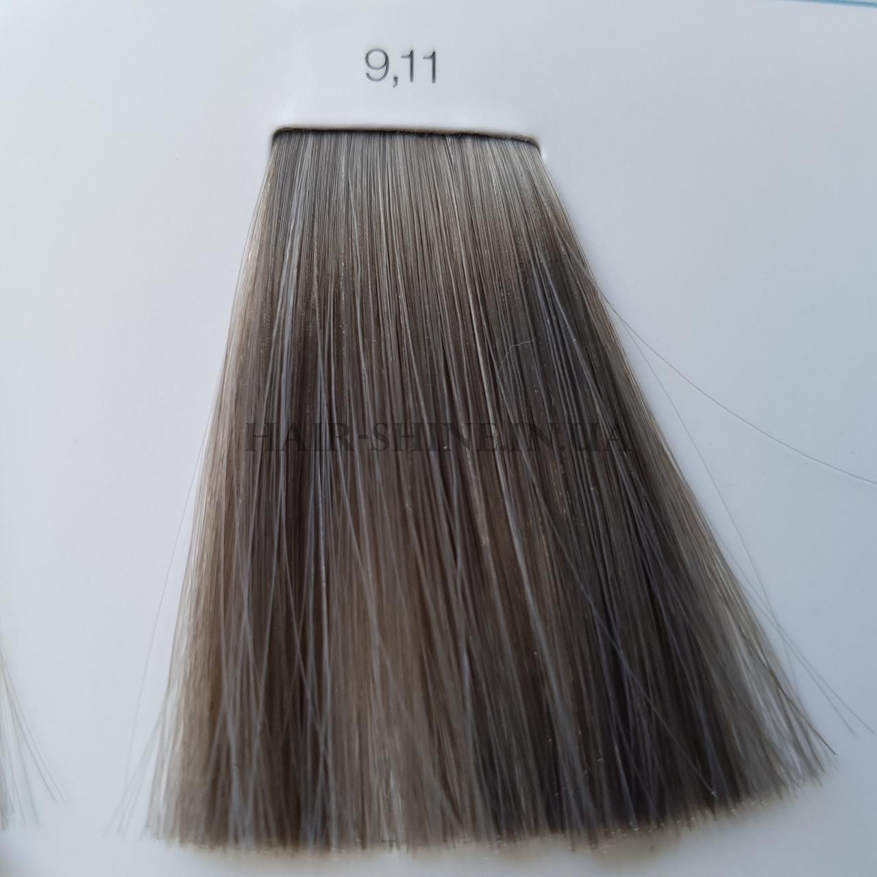 Краска без аммиака 60 мл  L'Oreal Professionnel Inoa 9.11  Очень светлый блондин пепельный интенсивный