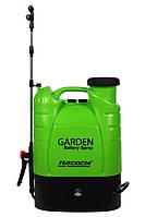 Опрыскиватель ранцевый аккумуляторный Насосы+Оборудование GARDEN Battery Spray 16S 11000