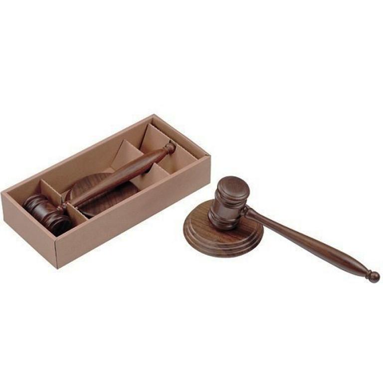 Подставка Bestar 3824WDN молоток судьи орех