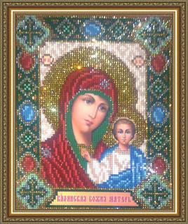 Набор алмазной живописи - икона Богородица Казанская
