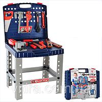 """Детский игровой набор - """"Чемодан с инструментами"""". Интерактивная игрушка детский набор инструментов с дрелью"""