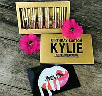 Kylie Jenner Birthday Edition Кайли Дженнер набор матовых помад 6 штук