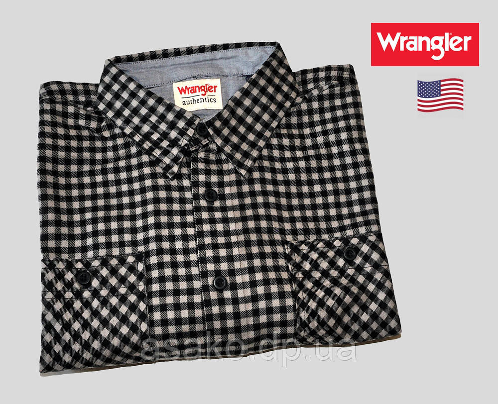 9007b37d37ee0c0 Рубашка Фланелевая Wrangler® (США)(2XL)/Оригинал Из США — в ...