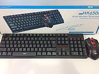 Клавиатура беспроводная с мышкой HK 6500, фото 1