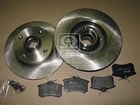 Комплект тормозной задний SEAT CORDOBA, TOLEDO 01/91-10/99,Volkswagen GOLF 08/91-09/97 (производство REMSA) (арт. 8263.02), AFHZX