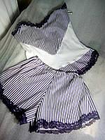 стильная пижама  высокого качества очень красивая   хлопок плетение атлас приятная к телу