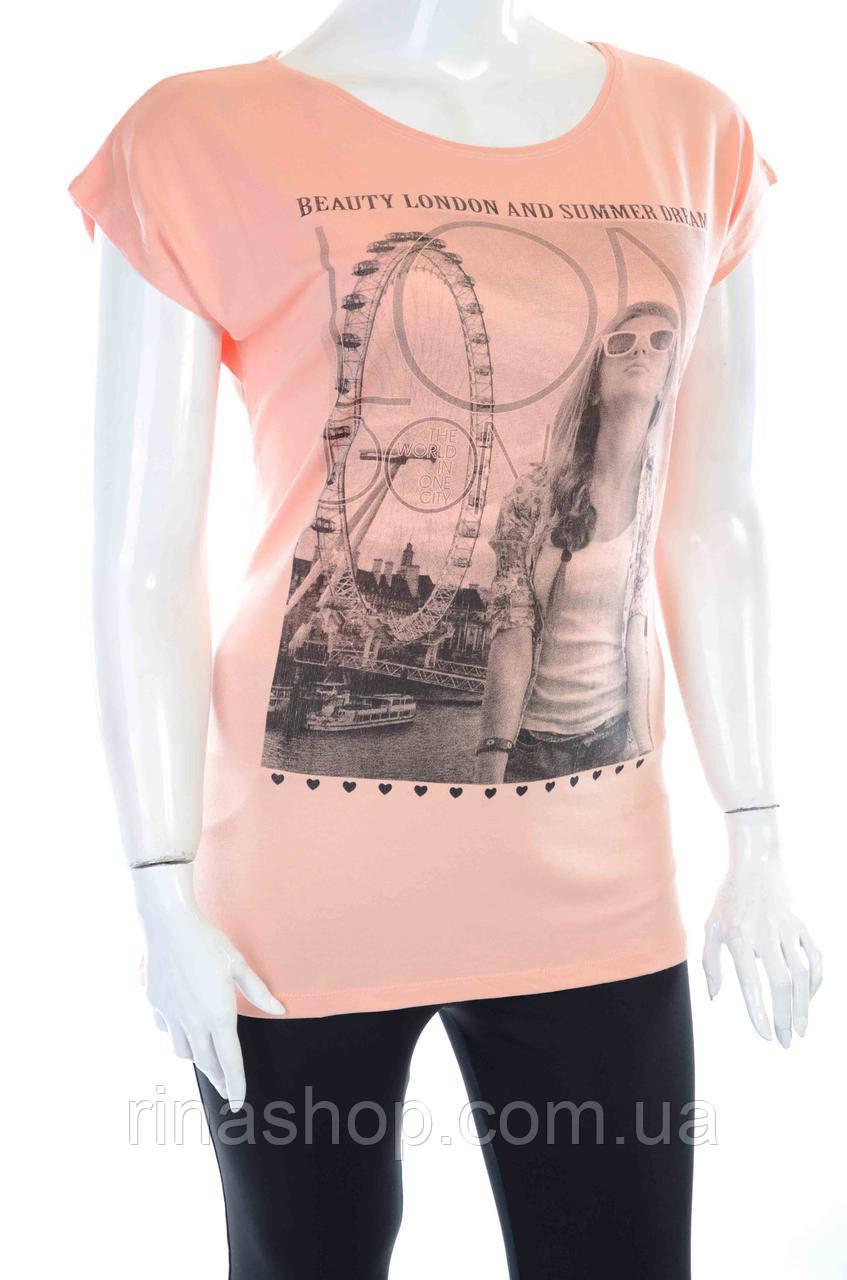 Женская футболка 100-276
