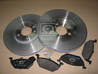 Комплект тормозной передний AUDI A3, A2 01-;SKODA FABIA, OCTAVIA; Volkswagen GOLF, BORA  (производство REMSA) (арт. 8633.08), AGHZX