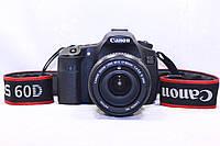 Б/у фотоаппарат Зеркалка Canon 60d, ef_s 17-85 is usm, фото 1