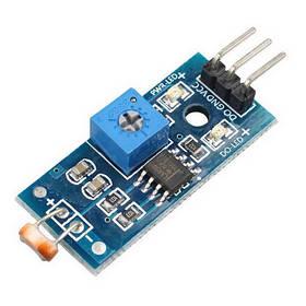 Модуль датчика освітленості регульований