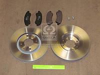 Комплект тормозной передн. CITROEN C3, C4, DS3 PEUGEOT 206, 207 (пр-во REMSA), AGHZX