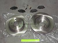 Комплект тормозной задний Mercedes-Benz (MB) VITO BOX(W639) 09/03- VITO BUS(W639) 09/03- (производство REMSA) (арт. 81110.00), AGHZX