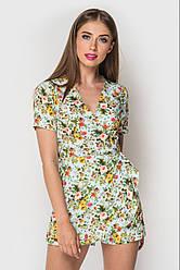 Комбинезон женский шортами в 2х цветах 4057-4257