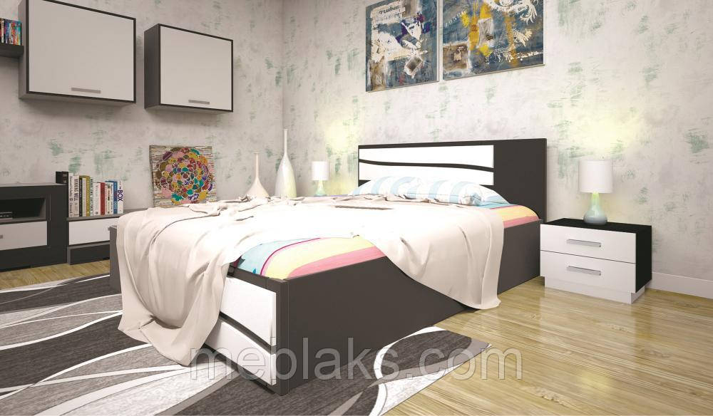 Кровать ЕЛІТ 2 90х190 ТИС