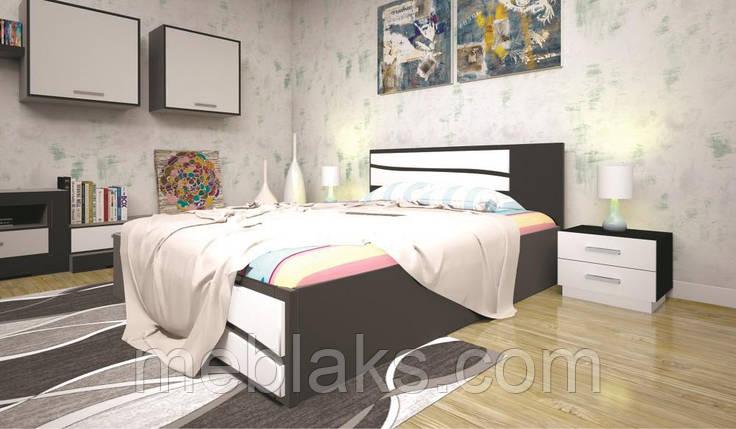 Кровать ЕЛІТ 2 90х190 ТИС, фото 2