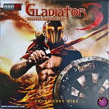 Дартс проф.мишень сизаль Gladiator3 ONE80 + дротики, фото 2