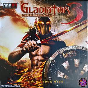 Дартс мишень сизаль Gladiator 3 Англия + дротики